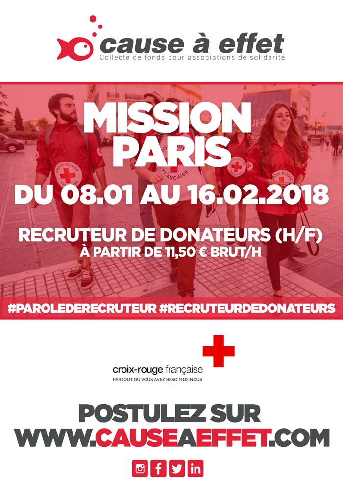 job paris croix rouge