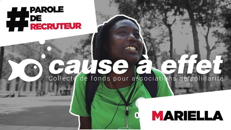 recrutreuse de donateur paris