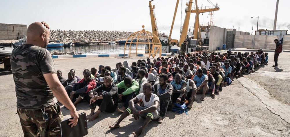 demandeur d'asile, libye
