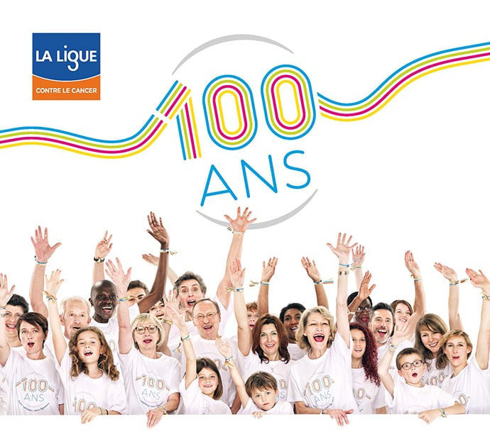 ligue cancer, 100 ans