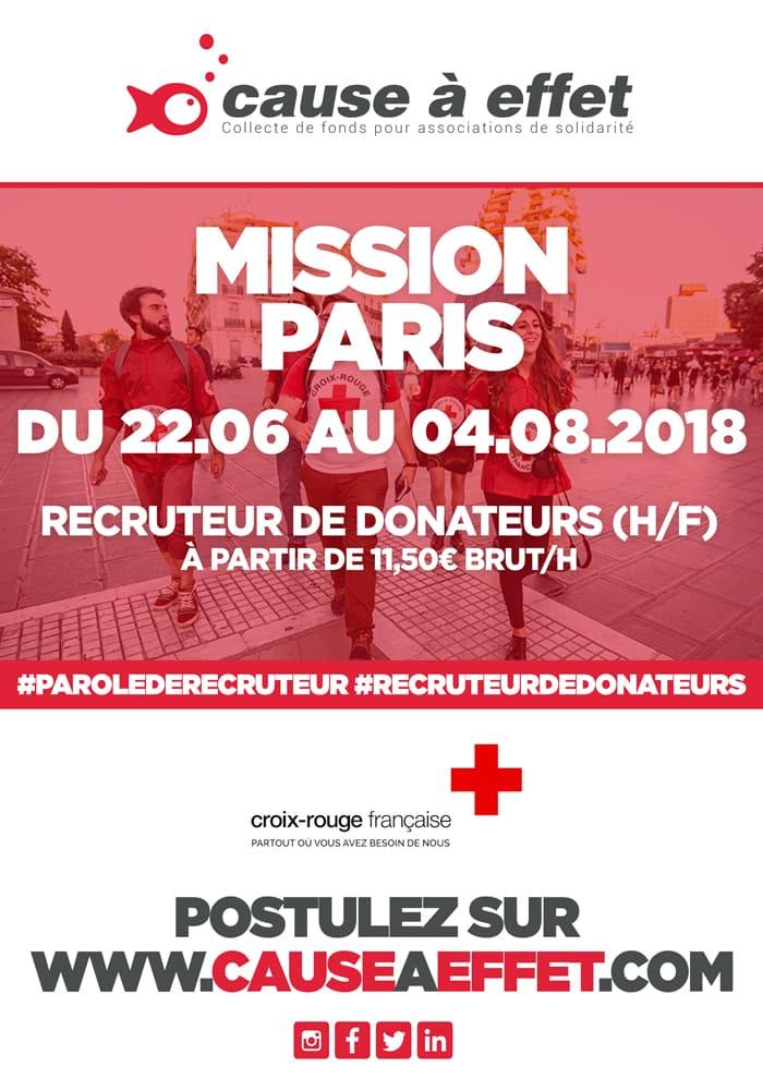 croix rouge francaise, paris