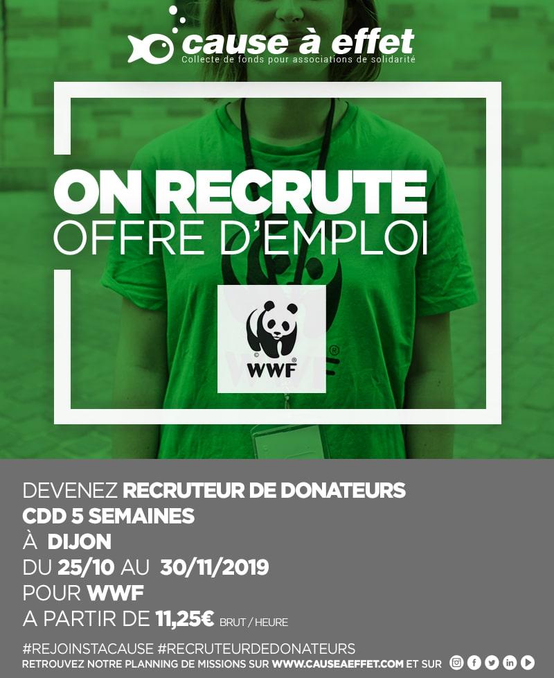 Poster pour une offre d'emploi a Dijon