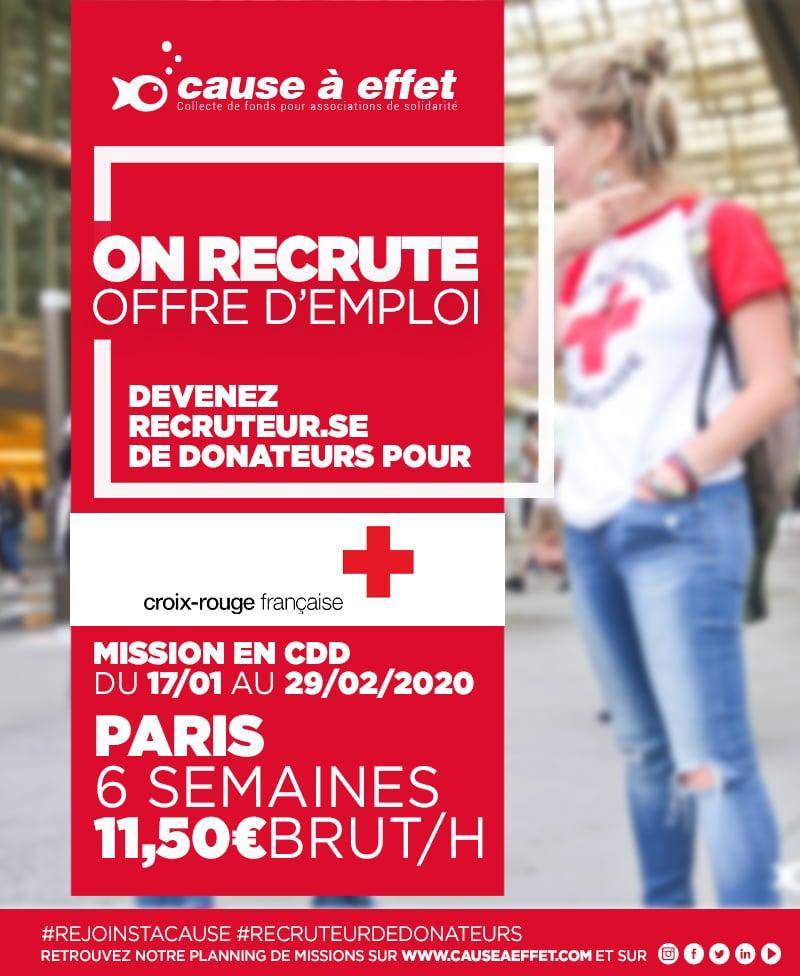 Mission Croix Rouge Francaise 20crf01 - Paris